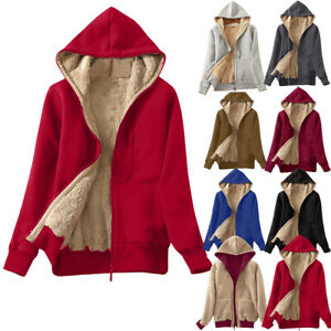 Womens-Thicken-Hooded-Warm-Coat-Jacket-Trench-Outwear-Winter-Long-Parka-Overcoat