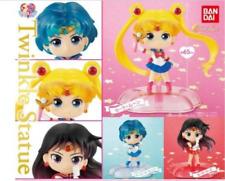 Sailor Moon Twinkle Statue 3 Set Mars Mercury Figure Bandai Capsule Toy Japan