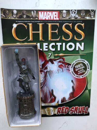 MARVEL CHESS COLLECTION Issue 7 RED SKULL EAGLEMOSS figurine Magazine
