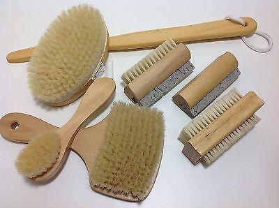Spas, Baths & Supplies Original Holz Bürste Naturborste Saunabürste Gesichtsbürste Nagelbürste Badebürste Bims Bath & Body