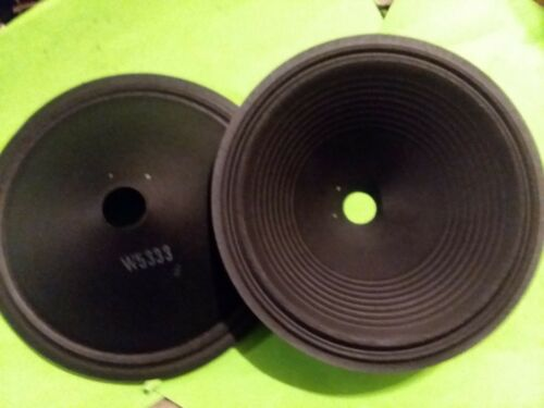 "WALDOM W5333 12/"" SPEAKER CONES HEMPOPOTAMUS LOUDspeaker"