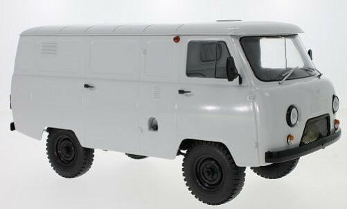 Premium ClassiXXs UAZ 452 Van (3741) Light gris 1 18 47071