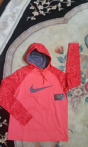 Fit Printed 803446 Nike Therma Hoodie 850 Pullover New Size M Women's Eqw6w1