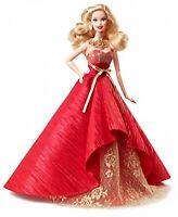 Barbie Collector 2014 Holiday Doll, New, Free Shipping