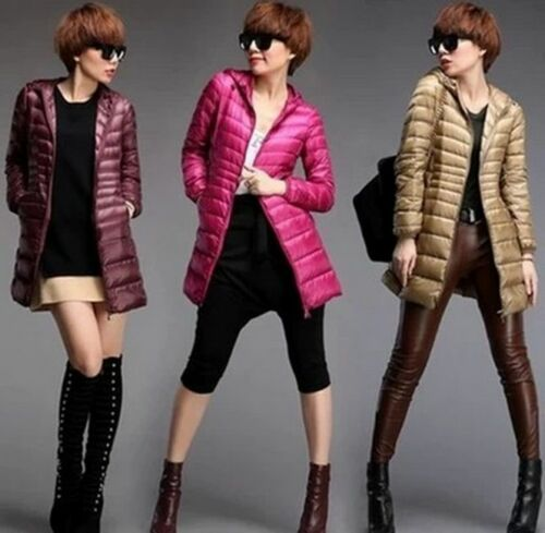 2016 parka Women's Uniqlo's Style Ultralight Down Jacket Warm long cotton Coat