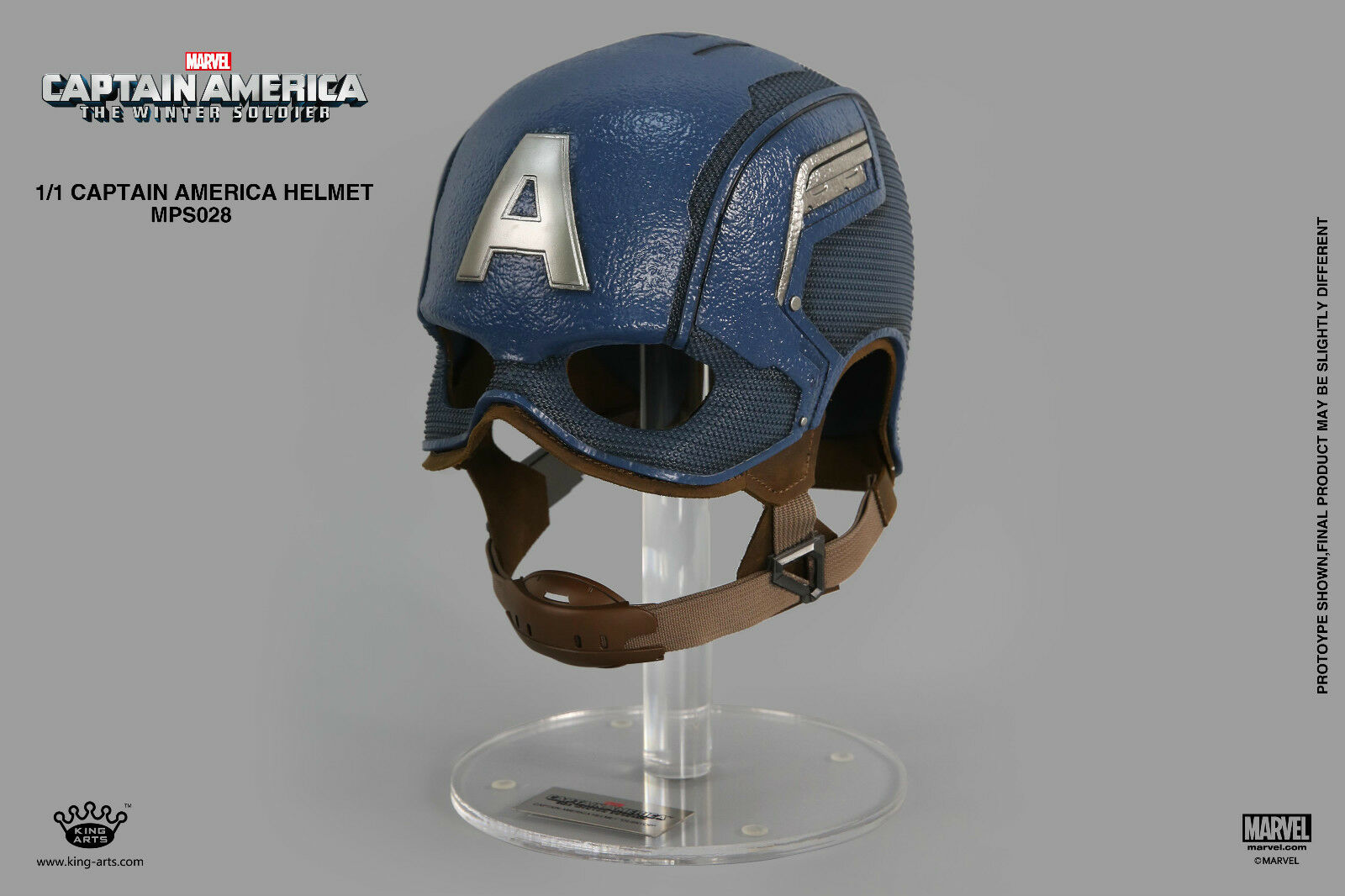 1 1 Captain American Helmet Action Figure Collection King Arts MPS028