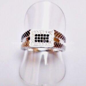 Exklusiver-Onyx-Zirkonia-Designer-Unisex-Ring-925-Silber-rhodiniert-18-6-mm