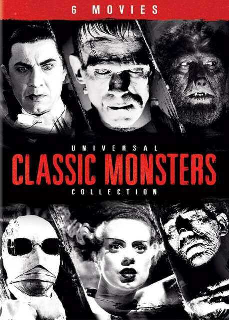 Universal Classic Monsters Collection New DVD! Ships Fast!