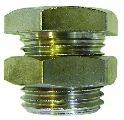 B2-01307 Cloison NP BSPP//Métrique-M20*1.5 x 1//4 Bsp x 16 mm