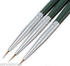 Utility Painting Dotting Brush UV Gel Acrylic Tips Liner Nail Art Pen Set 3Pcs