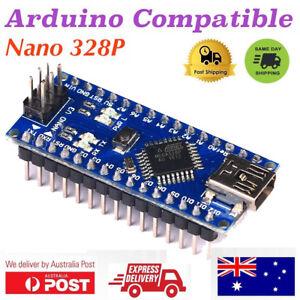 3-5-10-PC-Arduino-Nano-v3-5V-16M-Micro-controller-Board-ATMEGA328-CH340-USB