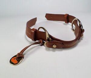 Dooney-amp-Bourke-Replacement-Strap-Fob-Leather-Handbag-Purse-Brown