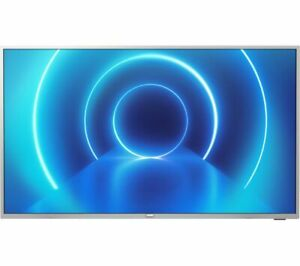 """Philips 58PUS7555 58"""" Ultra HD HDR LED LCD Smart TV - Silver"""