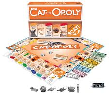 Cat-Opoly (CatOpoly) A Feline Themed Monopoly Game  NEW and SEALED