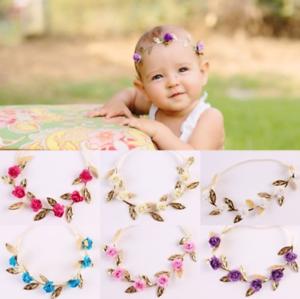 Cute Kids Girl Baby Princess Rose Headband Hair Band Headwear Accessories Gift