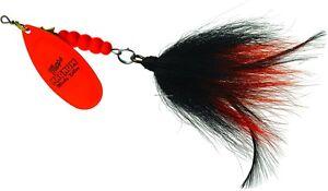 New-Mepps-Magnum-Musky-Killer-Lure-1-1-4oz-Hot-Orange-Black-amp-Orange-MBM-HO-BO