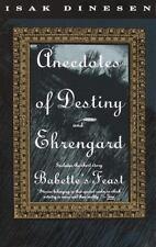 Vintage International: Anecdotes of Destiny and Ehrengard by Isak Dinesen (1993, Paperback)