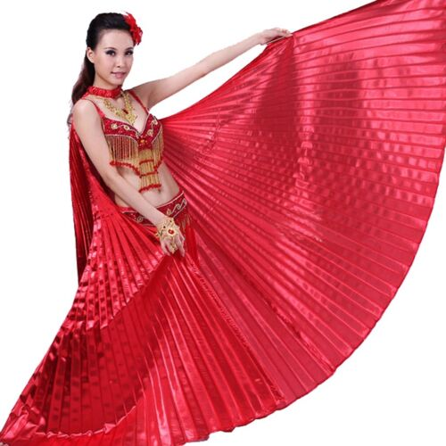 Isis Wings Belly Dance Dancing Costume Props Acessories Show Wings /& Sticks /&Bag