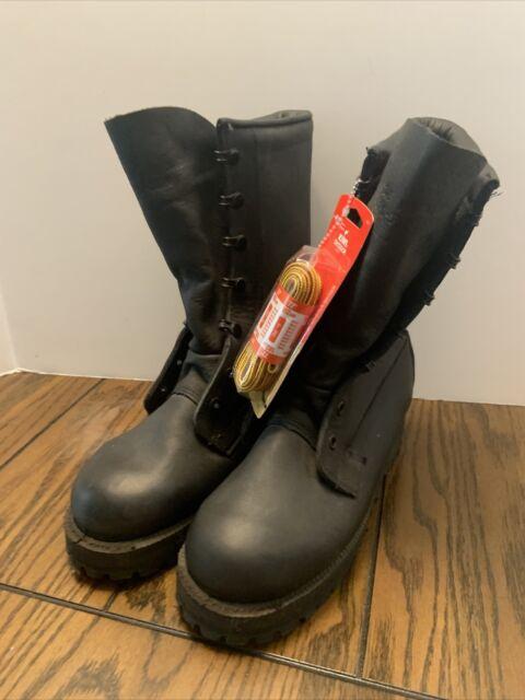 Belleville GoreTex Black Military Combat Boots Men's Size 5.5W Wide Vibram Soles
