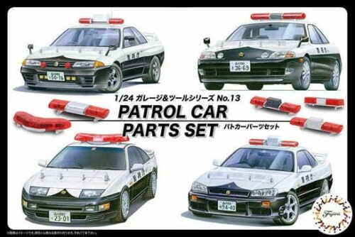 Fujimi 116464 1//24 Patrol Car Parts Set