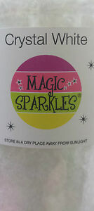 SPECIAL-OFFER-Edible-glitter-flakes-MAGIC-SPARKLES-Crystal-White-Gripseal-Bag