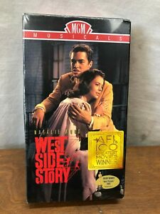 WEST-SIDE-STORY-1961-VERSION-MGM-MUSICALS-VHS-NATALIE-WOOD-NEW-SEALE