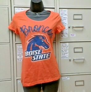 Small NCAA Boise State Broncos Cotton Lycra Dog Tank Top