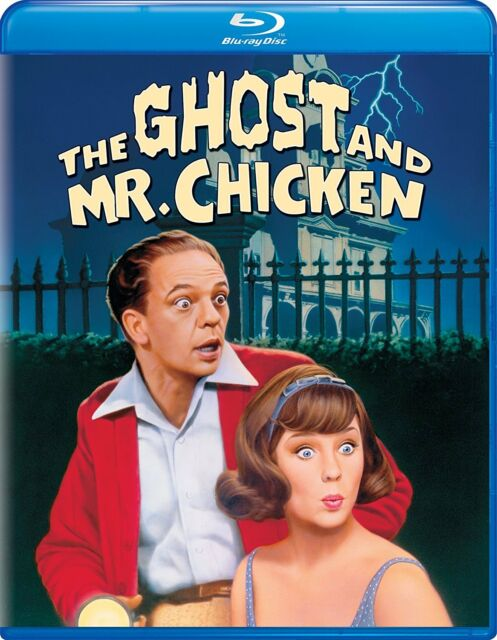 THE GHOST AND MR. CHICKEN - BLU RAY - Region free - Sealed