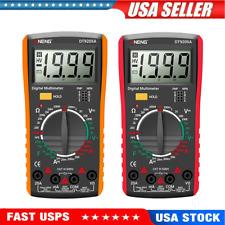 Dt9205a Digital Multimeter Ac Dc Voltmeter Ammeter Capacitance Tester Meter