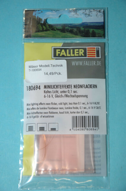 """Faller 180694 Lichtefekte """" Luce Neon Scintillante """" Nuovo"""