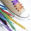 16 Color Glitter Flat Coloured 110cm Long Shoe Laces Shoelaces Bootlaces New