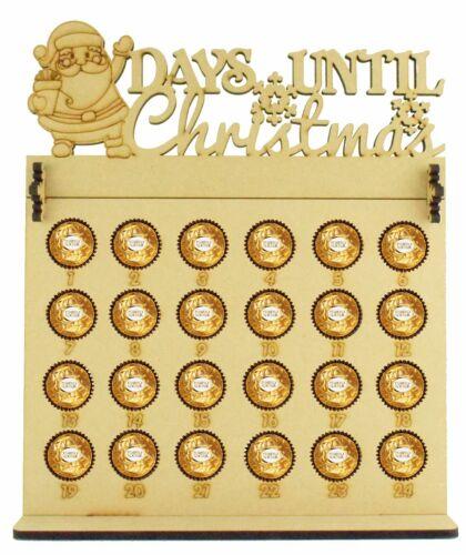 Ferrero Rocher /& Lindt Chocolate Balls Christmas Xmas Advent Calendar with Santa