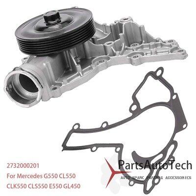 GMB Water Pump New for Mercedes Mercedes-Benz GL450 S550 CLS550 GL550 147-1050