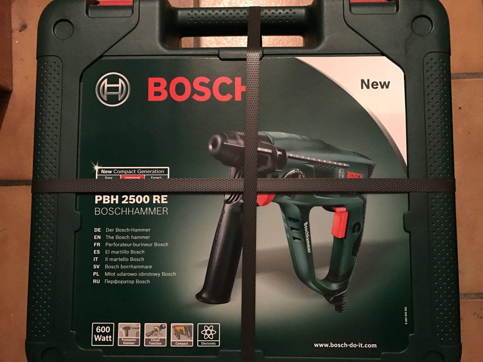 NEU & OVP  Bosch Bohrhammer PBH 2500 RE im Koffer