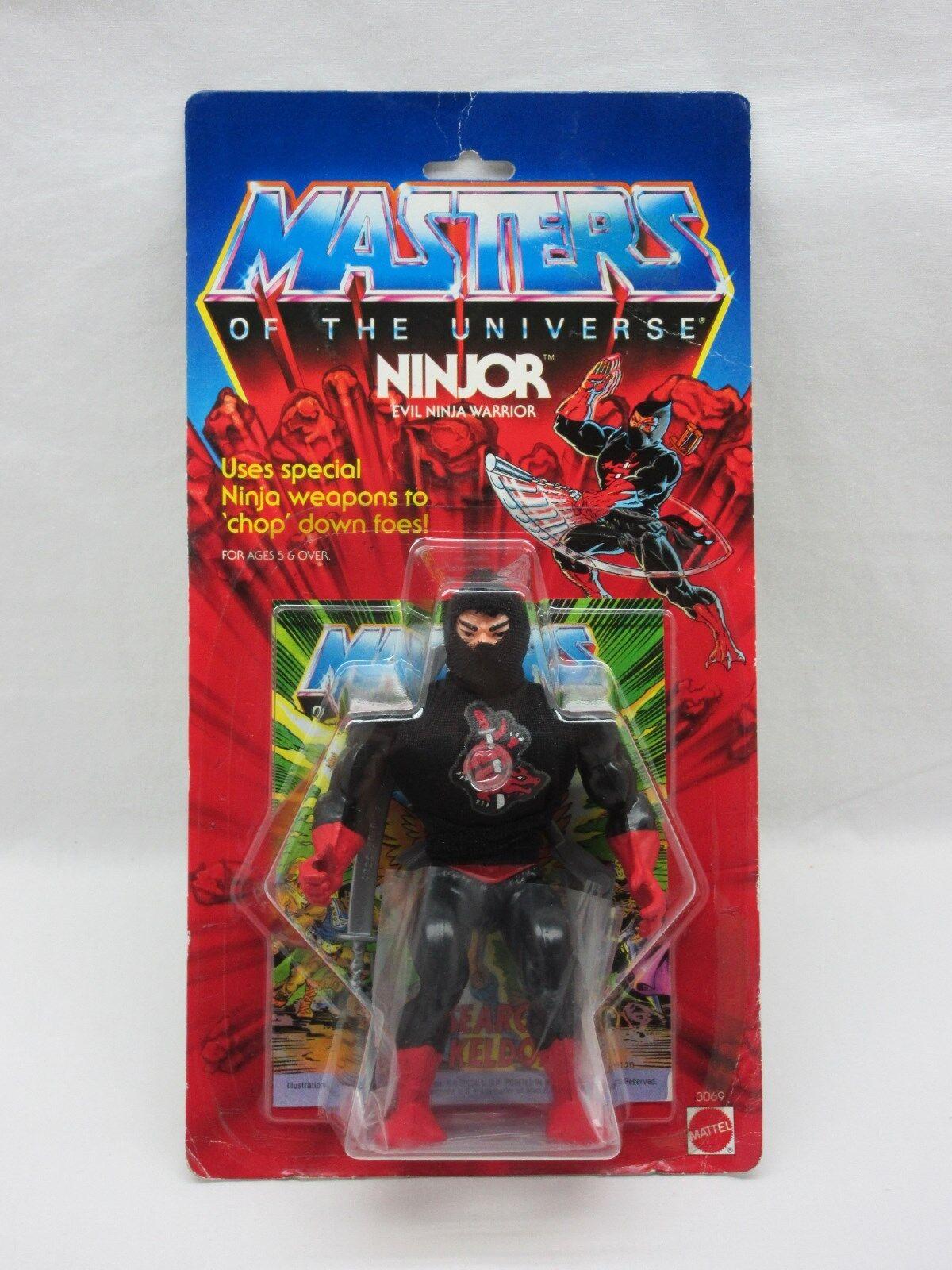 Amos del Universo, De Colección, Ninjor, Amos del Universo, menta en tarjeta, cardado, figura, he-man