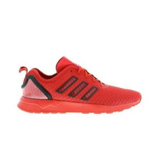 the latest 24773 3d752 ... Homme-Adidas-ZX-Flux-ADV-Rouge-Baskets-AQ6751