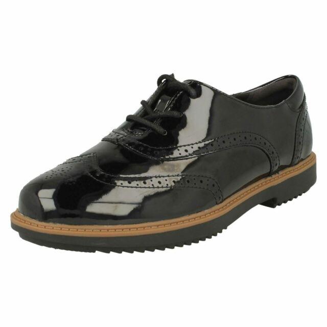Perfecto Traducción Regenerador  Ladies Clarks Lace Up Brogue Shoes 'Raisie Hilde' for sale