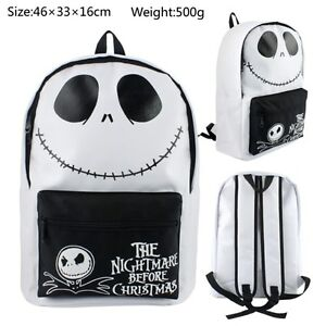 The-Nightmare-Before-Christmas-Jack-Boy-Girl-Backpack-knapsack-School-bag-Travel