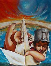 Original Art Oil Painting Arte Cuban Santiago de Cuba Artist YANIS BARBIER 4