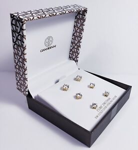 5fe73651b New $85 Giani Bernini Cubic Zirconia Stud Earrings - 18K Gold over ...