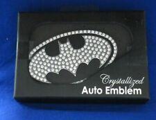 Batman Logo Crystallized Chrome Auto Emblem B