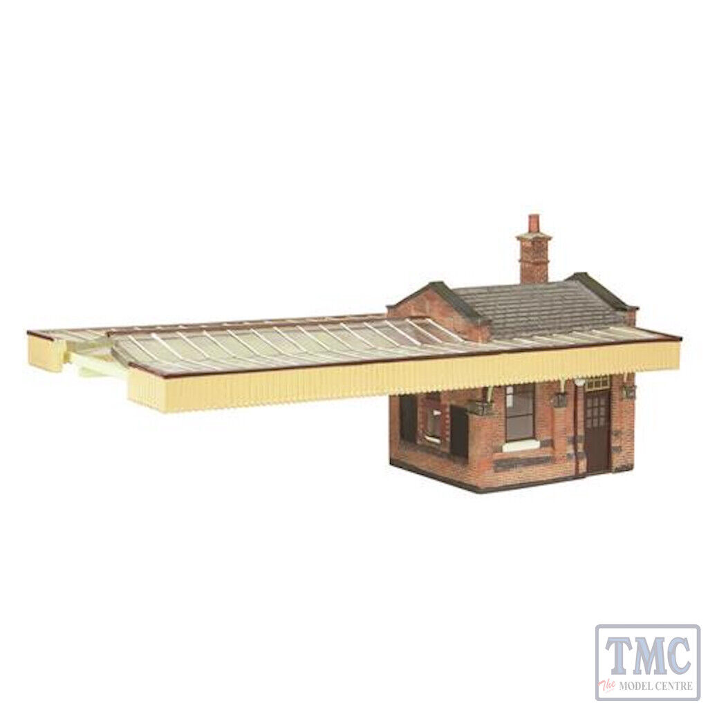 44-117B Scenecraft OO gauge Great Central Station Boore office w Canopy