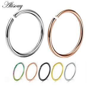 c55395684be Details about Nose Cuff Faux Clip On Silver,Gold Nose Hoop,Fake Nose- Ring  No Piercing Needed!