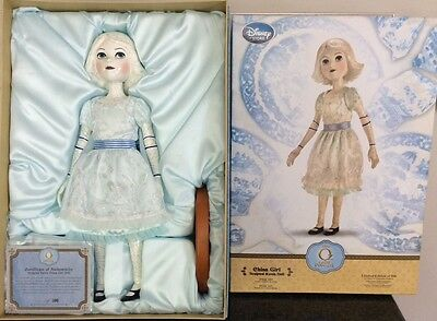 "OZ Great & Powerful CHINA GIRL Disney LIMITED EDITION 500 19"" Doll WIZARD OF OZ"