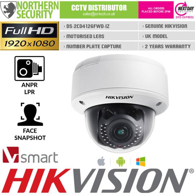 Hikvision Face Detection Smart Network IP Camera 2 8-12mm