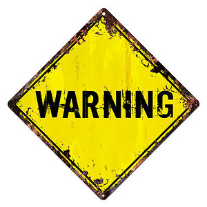 DS-0011-WARNING-Diamond-Sign-Rustic-Chic-Sign-Bar-Shop-Home-Decor-Gift