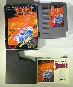 Joust-Nintendo-Entertainment-System-1988-CIB-Complete-Arcade-Classic-FUN