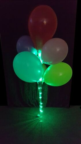 Balloon Cup And Stick Display Stand With LED Lights For Table Centre