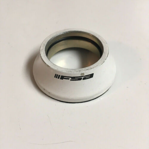 FSA White Alloy Bicycle Headset Bearing Cover