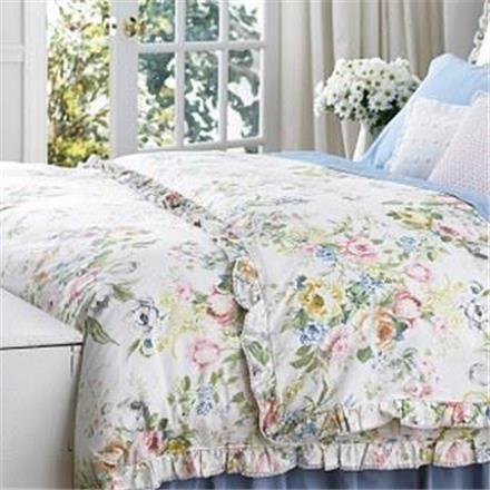 Ralph  Lauren Home Lake Floral Queen 7PC Duvet Cover Set New